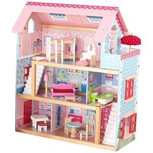 キッドクラフト チェルシー ドール コテージ 【こども ままごと 木製 ごっこ遊び】 KidKraft Chelsea Doll Cottage 正規品