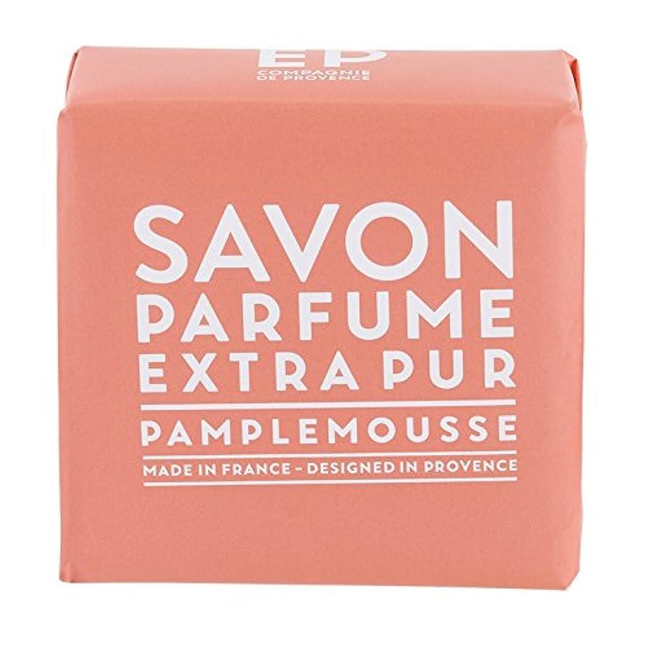 石鹸ノミネート何よりもカンパニードプロバンス EXP  マルセイユソープ ピンクグレープフルーツ 100g(全身用石けん?フランス製?新鮮な柑橘系の香り)