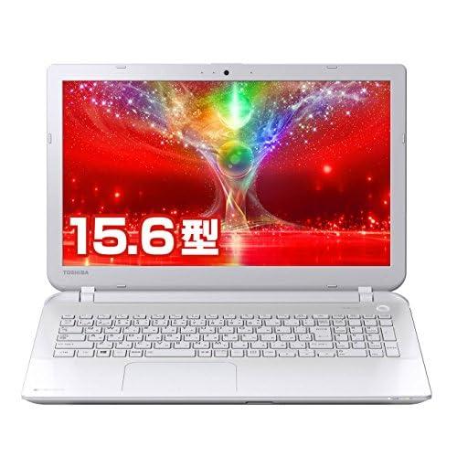 東芝 dynabook AB55/NW 東芝Webオリジナルモデル (Windows 8.1/Officeなし/15.6型/4K出力/Bluetooth/オンキヨー製ステレオスピーカー/Photoshop Elements 12/core i7/リュクスホワイト) PAB55NW-HUA