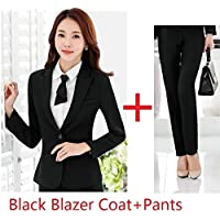 XuBa Autumn Winter Formal Styles Pantsuits with Jackets and Pants for Ladies Office Business Women Blazers Pants Suits
