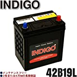 INDIGOバッテリー バモス【型式LA-HM1 2001年9月~ E07Zエンジン MT・ターボ 寒冷地車】