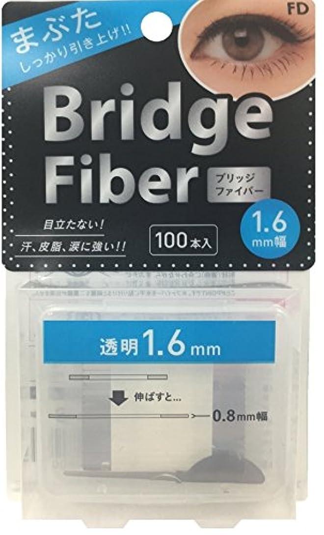 手順文庫本カップルFD ブリッジファイバー クリア 1.6mm