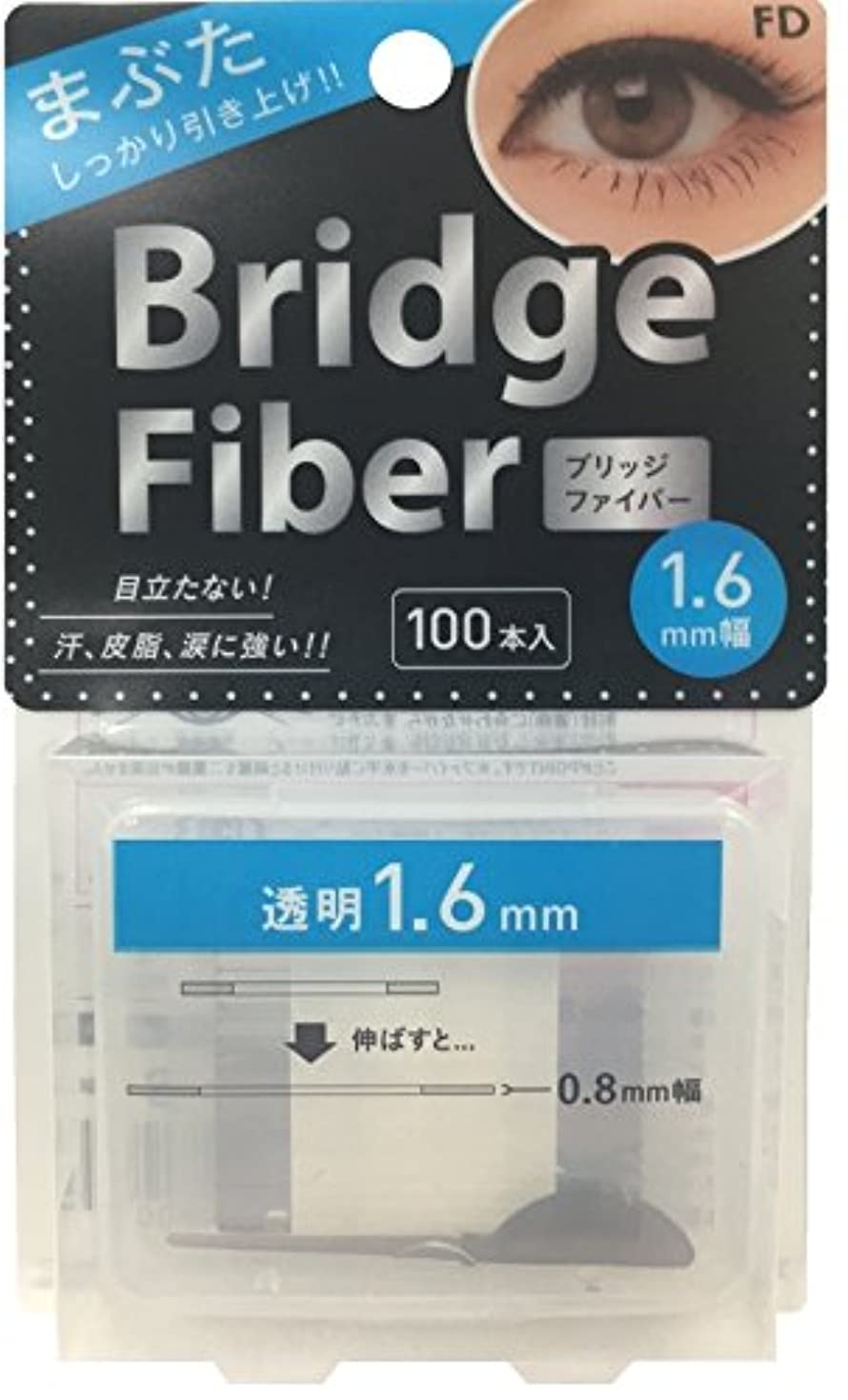 引くアプローチロールFD ブリッジファイバー クリア 1.6mm