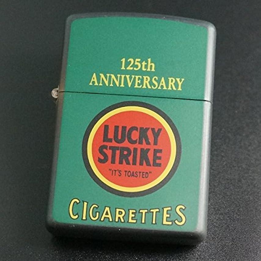 ワードローブほとんどない告発者zippo LUCKY STRIKE 125th ANNIVERSARY 1997年製造