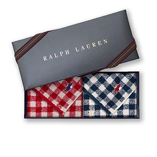 ラルフローレン 【RALPH LAUREN】タオルハンカチ2枚...
