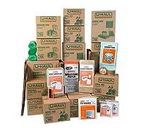 U-Haul 引っ越し用ボックスと梱包キット Household Moving Kit