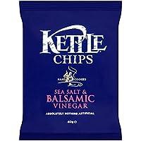 (Kettle (ケトル)) チップ海塩&バルサミコ酢の40グラム (x2) - Kettle Chips Sea Salt & Balsamic Vinegar 40g (Pack of 2) [並行輸入品]