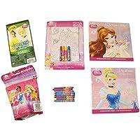 ディズニーPrincessアクティビティGiftセット~ Made for a Princess (ポスターとマーカーセット、Crayolaカラーリングパッド、パズルin aバッグ、Paperbacks、クレヨン; 6 Items、1バンドル)