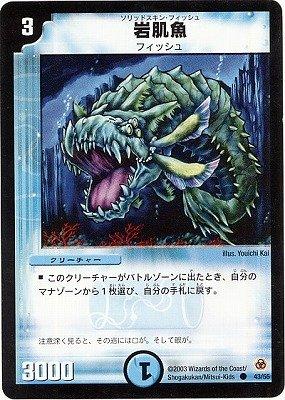 デュエルマスターズ/DM-05/43/C/岩肌魚