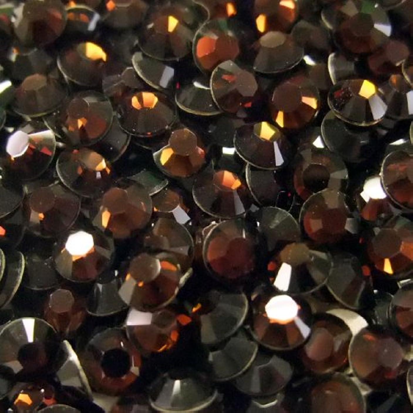 明るいリングマナースワロフスキー(Swarovski) ラインストーン SS12(約3mm) モカ