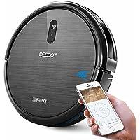 ECOVACS DEEBOT N79 ロボット掃除機 フローリング掃除 カーペット掃除 静音&強力吸引 Wi-Fi接続 アプリ制御