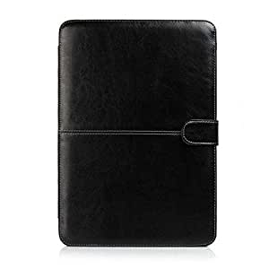 Termichy Light Weight Laptop Sleeve Case for Macbook Pro 15.4 Inch, Pu Leather Mac Case (Black) by Termichy [並行輸入品]