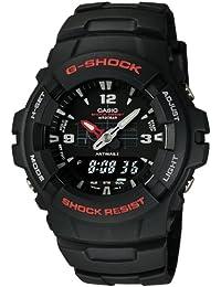 [カシオ]CASIO 腕時計 G-SHOCK ジーショック STANDARD BASIC アナログ/デジタルコンビネーションモデル G-100-1BMJF メンズ