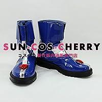 【サイズ選択可】コスプレ靴 ブーツ K-879 魔法少女リリカルなのはStrikerS キャロ・ル・ルシエ 男性28CM