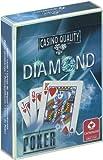 ダイヤモンド トランプ (青) ポーカーサイズ