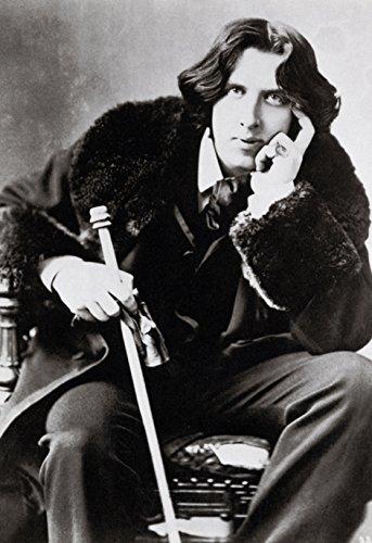 Oscar Wildeポスター、象徴的なアイルランド作成者、作家と詩人