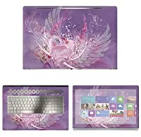 Decalrus - Protective Decal Skin Sticker for HP ENVY 17M AE011DX (17.3 Screen) case cover wrap HPenvy17_ae011dx-83
