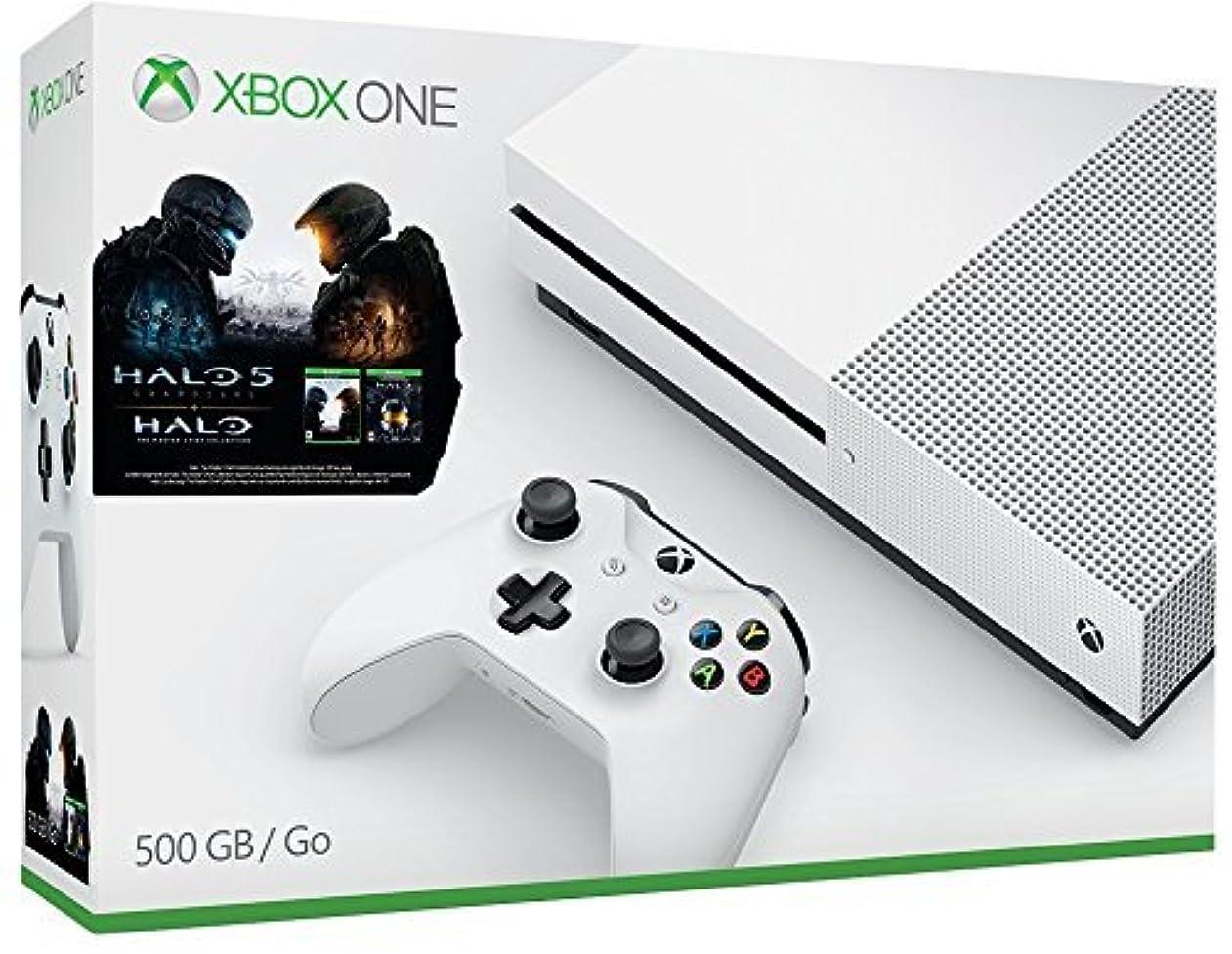 必需品欠乏オフセットXbox One S 500GB Console コントローラー セット Halo Collection Bundle ハロ コレクション付き 並行輸入品 [並行輸入品]