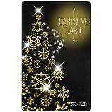 【ステッカーシート特典付き】DARTSLIVE CARD Special Pack Flight-L <Snow Crystal Black> (ダーツライブカード フライト)