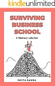 Surviving Business School: Comic Illustrations of a Top MBA Program (English Edition)