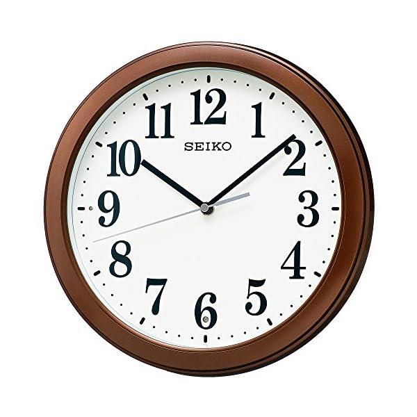 セイコークロック 電波掛時計 コンパクトサイズ ...の商品画像