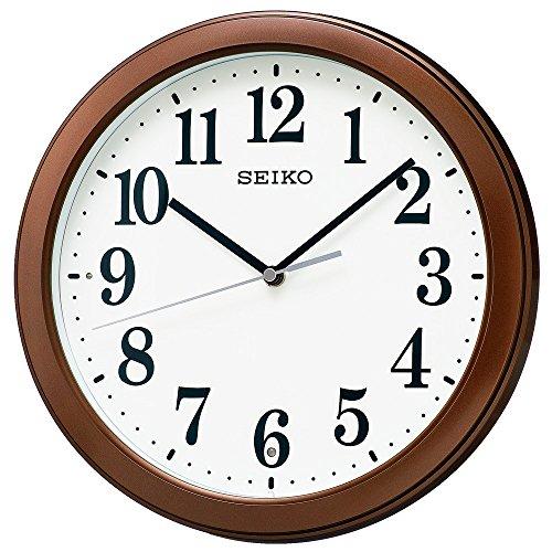 セイコークロック 電波掛時計 コンパクトサイズ プラスチック...