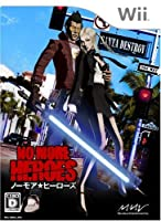 "NO MORE HEROES(ノー・モア・ヒーローズ) 特典 メタル""ビーム・カタナ""アクセサリー付き - Wii"