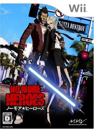 "NO MORE HEROES(ノー・モア・ヒーローズ) 特典 メタル""ビーム・カタナ""アクセサリー付き - Wiiの詳細を見る"