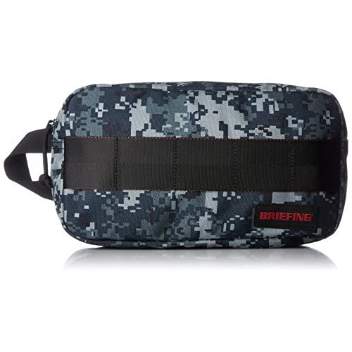 [ブリーフィング] ポーチ QL ONE ZIP POUCH BRF394219 174 NAVY DIGITAL CAMO
