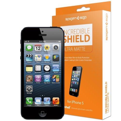国内正規代理店品SPIGEN SGP iPhone5 インクレディブル シールド [ウルトラ・マット] SGP08202