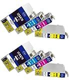 互換インク IC4CL76 2パックセット (4色×2パック=合計8個) ICチップ付き 大容量タイプ EPSON 互換インク 残量表示可能 高品質 個別包装  [ZAZ] FFPパッケージ(BG)