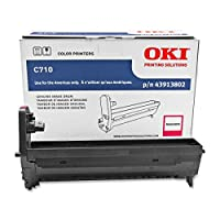 Okidata Colorlaser c12ドラム画像処理キット–OEM–OEM # 43913802–30K–マゼンタ–c712にも、ot