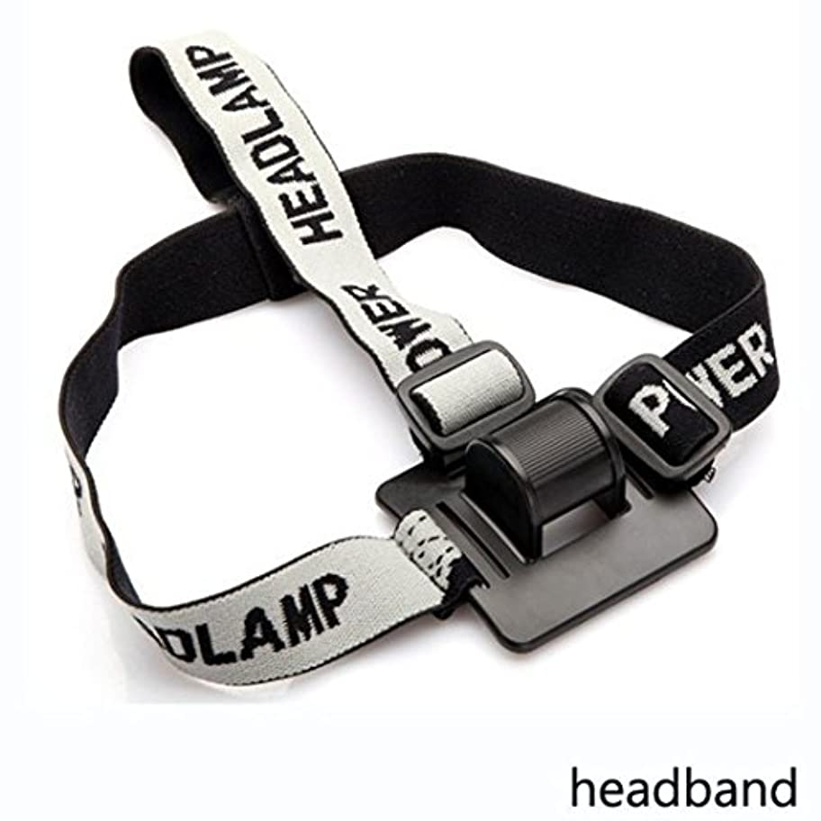 ケント蜜サミットHZOTB 新しいヘッドバンド/ヘルメットストラップマウントヘッドストラップLEDヘッドランプ/ヘッド自転車ライト