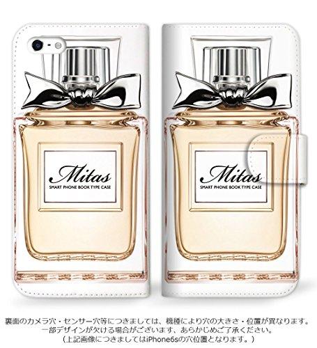 mitas AQUOS PHONE SERIE ISW16SH ケース 手帳型  香水1 オレンジ (88) SC-0154-OR/ISW16SH