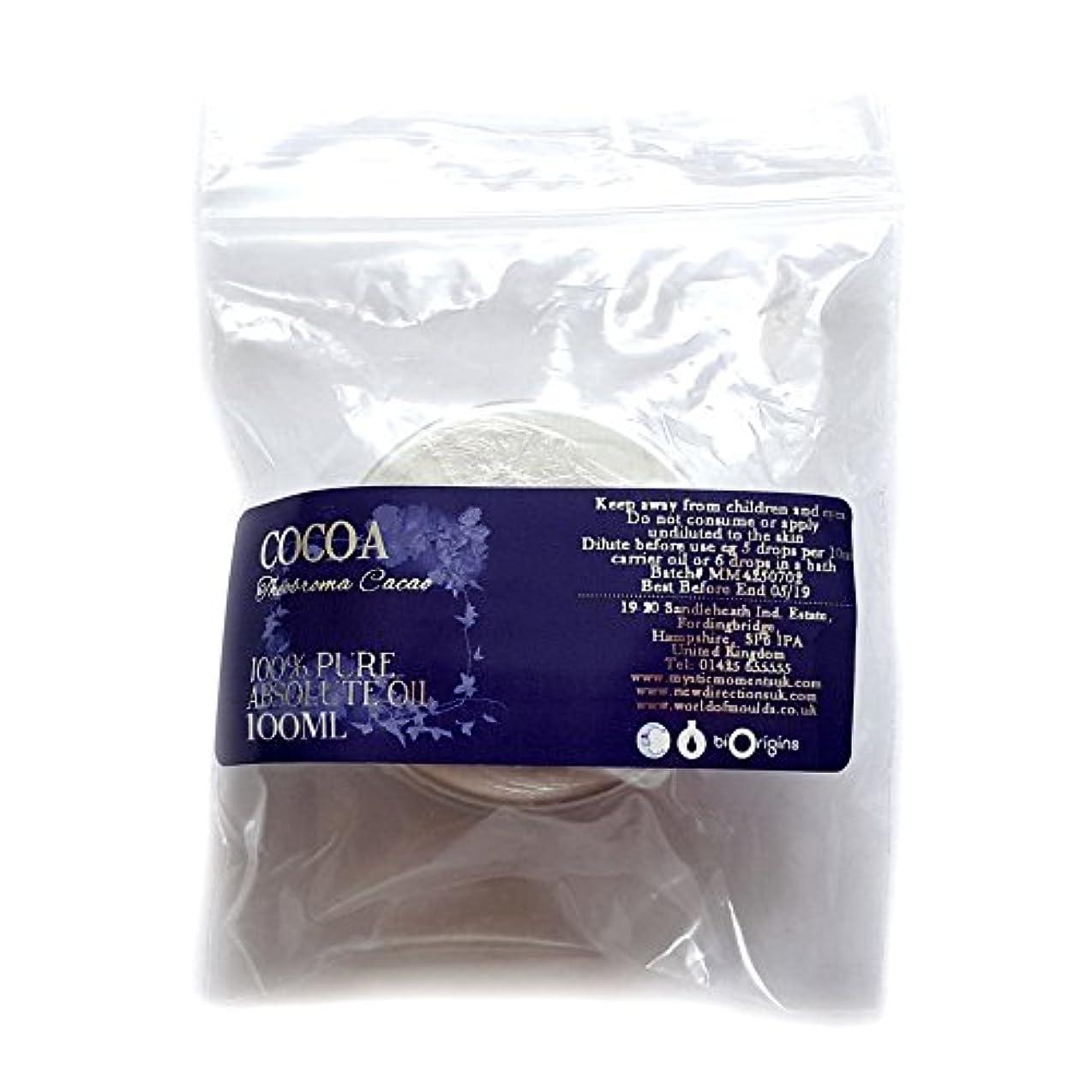 放置苦難かけるCocoa Absolute 100ml - 100% Pure