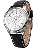 Ks アビエイター ラグジュアリー 自動機械式 日付 曜日 表示 エレガント メンズ 腕時計KS096