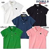 ダブルB(mikihouse) EverydayDouble_B 半袖ポロシャツ 130cm 黒(05)