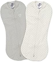 Summer Infant Swaddle Me Pod, Grey/White Dot, Pack of 2