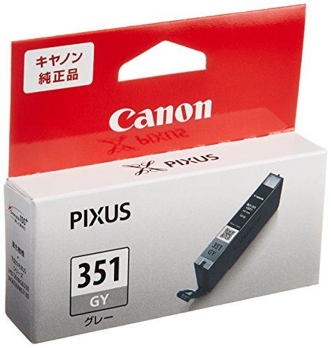 Canon 純正インクカートリッジ BCI-351 グレー BCI-351GY