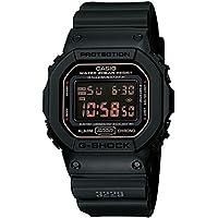 カシオ Gショック 腕時計 マットブラック レッドアイ DW5600MS-1