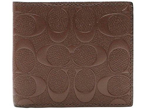[コーチ] COACH 財布 (二つ折り財布) F75363 マホガニー MAH シグネチャー 二つ折り財布 レディース [アウトレット品] [並行輸入品]