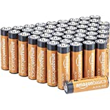 AmazonBasics AA Performance Alkaline Batteries, 48ct (Packaging May Vary)