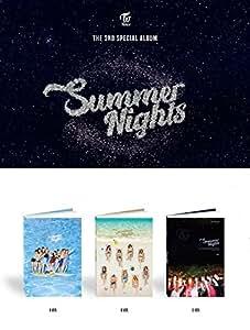 3枚セット【早期購入特典あり】 TWICE Summer Nights 2nd スペシャルアルバム ( 韓国盤 )(初回限定特典7点)(韓メディアSHOP限定)