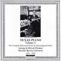 Vol. 1-Texas Piano 1923-1935