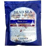 デッドシー?アロマバスソルト/ローズブレンド 80g 【DEAD SEA AROMA BATH SALT】死海の塩+精油+ハーブ/入浴剤(入浴用化粧品)【正規販売店】