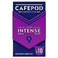 [Cafepod] Cafepod強烈#9コーヒーポッド10人前 - Cafepod Intense #9 Coffee Pods 10 Servings [並行輸入品]