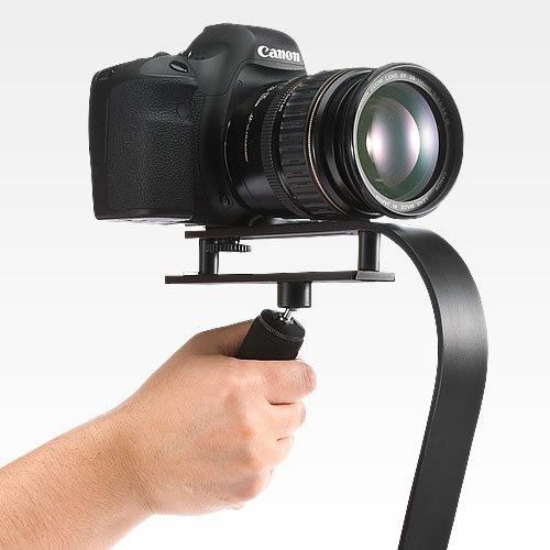 「カメラスタビライザー(EYS-CAMST01Y)」手振れのない滑らかな動画を撮影可能に!三脚穴のデジカメ・ビデオカメラに対応