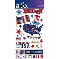 Sticko (スティッコ) PATRIOTIC FLIP PACK 52-60127