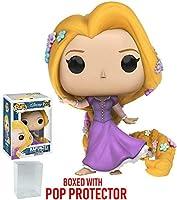 Funko POP 。Disney : Tangled–Rapunzel Vinyl Figure (バンドルwith Popボックスプロテクターケース)