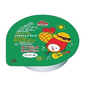 エンジョイカップゼリー (栄養補助食品) マンゴー味 24個入 /7-2687-04